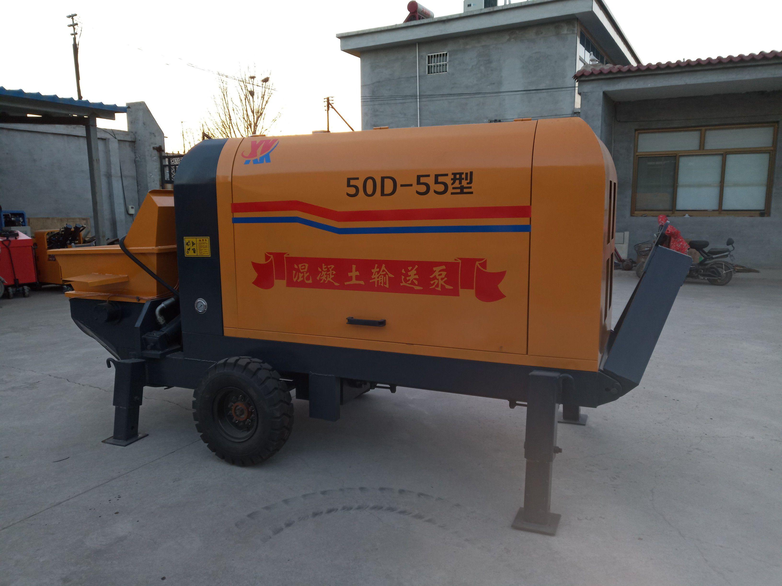 灯塔大型混凝土输送泵